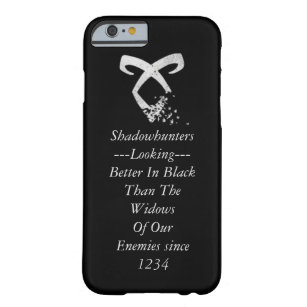 Coque Barely There iPhone 6 Citation de Shadowhunters