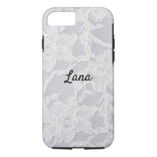 coque iphone 7 dentelle blanche