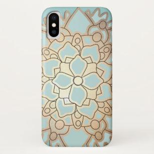 coque iphone x fleur de lotus