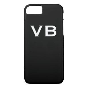 iphone 7 coque initiales