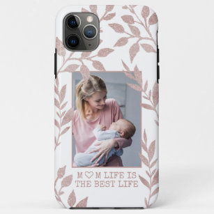 Coque Case-Mate Pour iPhone Maman cite Rose Gold Parties scintillant Foliing P