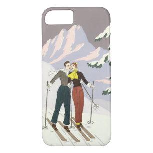coque iphone 8 skieur