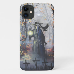 coque iphone 8 plague doctor