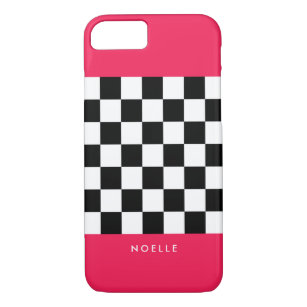 coque iphone 7 damier