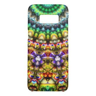 Coque Case-Mate Samsung Galaxy S8 3D coloré Sun abstrait