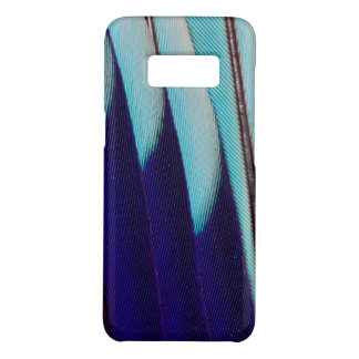 Coque Case-Mate Samsung Galaxy S8 Abrégé sur bleu conception de plume
