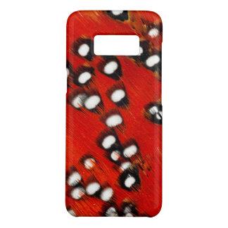 Coque Case-Mate Samsung Galaxy S8 Abrégé sur rouge plume de Tragopan