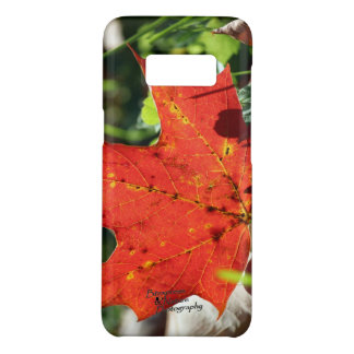 Coque Case-Mate Samsung Galaxy S8 Affaire isolée rouge 3,0