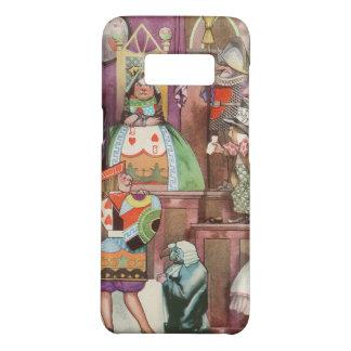 Coque Case-Mate Samsung Galaxy S8 Alice vintage au pays des merveilles, reine des