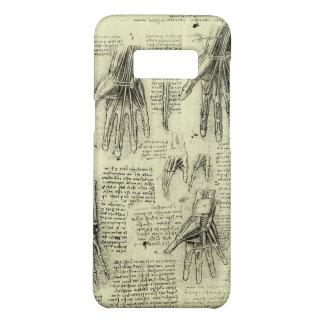 Coque Case-Mate Samsung Galaxy S8 Anatomie de la main humaine par Leonardo da Vinci