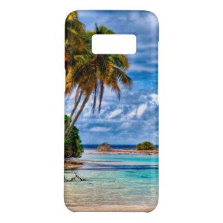 Coque Case-Mate Samsung Galaxy S8 Aquarelle hawaïenne de plage de joli été mignon