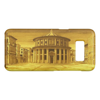 Coque Case-Mate Samsung Galaxy S8 Architecte IDÉAL de la Renaissance de VILLE, jaune