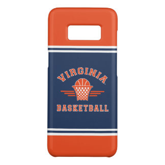 Coque Case-Mate Samsung Galaxy S8 Basket-ball du logo | de cavaliers de la Virginie