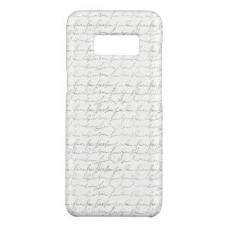 Coque Case-Mate Samsung Galaxy S8 Beau manuscrit vintage