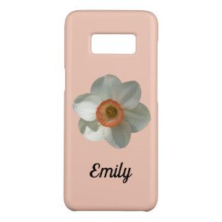 Coque Case-Mate Samsung Galaxy S8 Belle fleur de ressort de jonquille rose