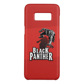 Coque Case-Mate Samsung Galaxy S8 Black panther RED