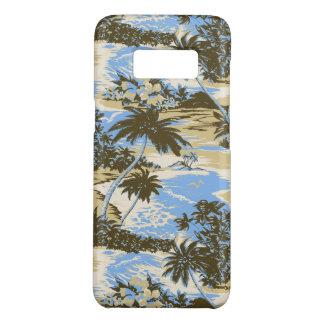 Coque Case-Mate Samsung Galaxy S8 Bleu de ciel pittoresque d'île hawaïenne de baie
