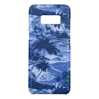 Coque Case-Mate Samsung Galaxy S8 Bleu pittoresque d'île hawaïenne de baie de Napili