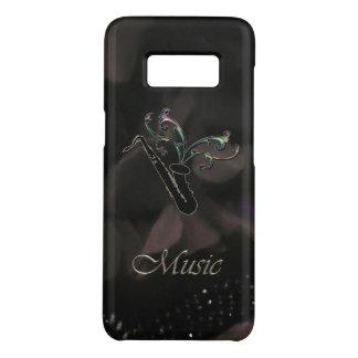 Coque Case-Mate Samsung Galaxy S8 Caisse noire élégante de la galaxie S8 de Samsung