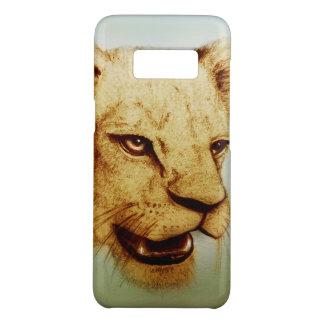 Coque Case-Mate Samsung Galaxy S8 Caisse vintage de galaxie de Samsung - lion