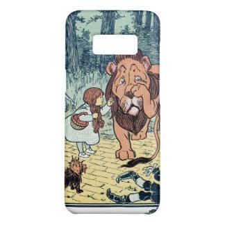Coque Case-Mate Samsung Galaxy S8 Caractères vintages de magicien d'Oz, route jaune