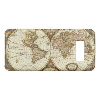 Coque Case-Mate Samsung Galaxy S8 Carte antique du monde, C. 1680. Par Frederick de
