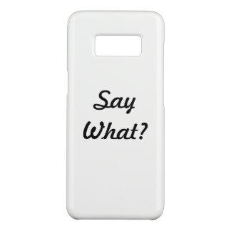 Coque Case-Mate Samsung Galaxy S8 Cas de téléphone portable de Samsung