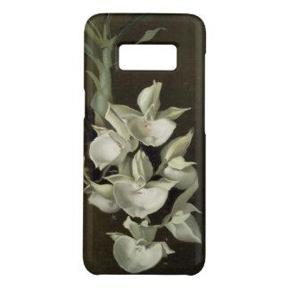 Coque Case-Mate Samsung Galaxy S8 Cas floral de téléphone d'art d'orchidée blanche