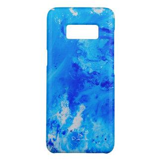 Coque Case-Mate Samsung Galaxy S8 Cas liquide abstrait moderne Samsung S8 de