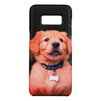 Coque Case-Mate Samsung Galaxy S8 Chiot de golden retriever