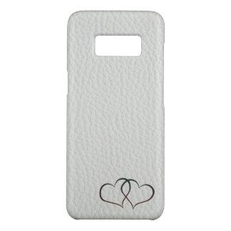 Coque Case-Mate Samsung Galaxy S8 Coeurs en cuir