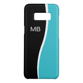 Coque Case-Mate Samsung Galaxy S8 Conception de monogramme des affaires des hommes