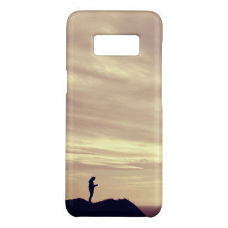 Coque Case-Mate Samsung Galaxy S8 Coucher du soleil de falaises de Pennard