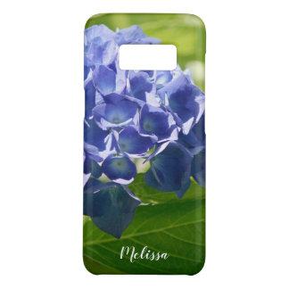 Coque Case-Mate Samsung Galaxy S8 Coutume florale d'hortensia bleu