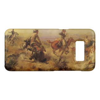 Coque Case-Mate Samsung Galaxy S8 Cowboys vintages, lancés vers le bas par cm