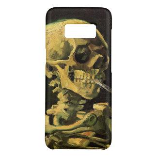 Coque Case-Mate Samsung Galaxy S8 Crâne de Van Gogh avec la cigarette brûlante, art
