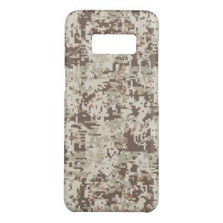 Coque Case-Mate Samsung Galaxy S8 Décor beige de camouflage de Digitals de désert