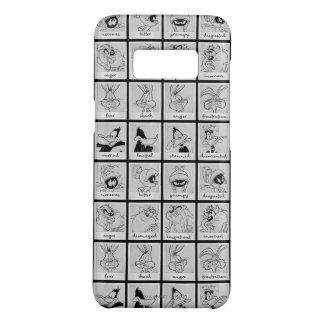Coque Case-Mate Samsung Galaxy S8 Diagramme LOONEY d'émotion de caractère de TUNES™