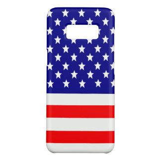 Coque Case-Mate Samsung Galaxy S8 Drapeau des Etats-Unis Etats-Unis