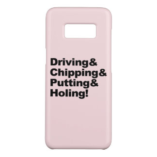 Coque Case-Mate Samsung Galaxy S8 Driving&Chipping&Putting&Holing (noir)