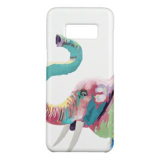 Coque Case-Mate Samsung Galaxy S8 Éléphant vibrant coloré à la mode impressionnant