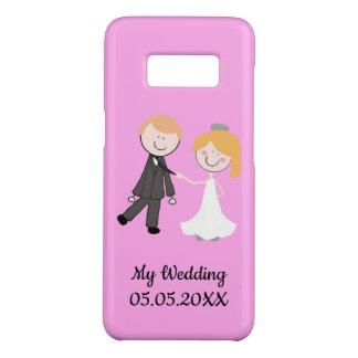 Coque Case-Mate Samsung Galaxy S8 équipe de mariage de marié de jeune mariée