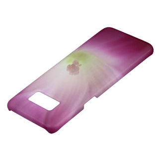 Coque Case-Mate Samsung Galaxy S8 Fleur blanche rose lumineuse magnifique de gloire