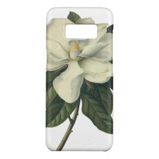 Coque Case-Mate Samsung Galaxy S8 Fleurs blanches de floraison de fleur de magnolia