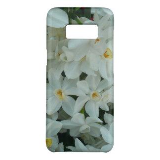Coque Case-Mate Samsung Galaxy S8 Fleurs blanches sensibles de narcisse de