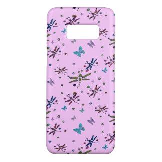 Coque Case-Mate Samsung Galaxy S8 fleurs et libellules colorées