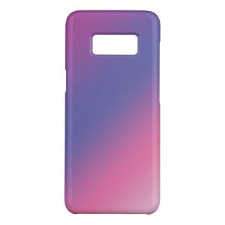 Coque Case-Mate Samsung Galaxy S8 gradient bleu pourpre rose élégant d'ombre coloré