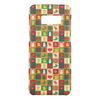 Coque Case-Mate Samsung Galaxy S8 Grand motif de Noël