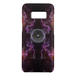 Coque Case-Mate Samsung Galaxy S8 Haut-parleur de musique sur un arrière - plan au
