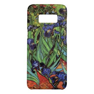 Coque Case-Mate Samsung Galaxy S8 Iris de Van Gogh, beaux-arts vintages de jardin